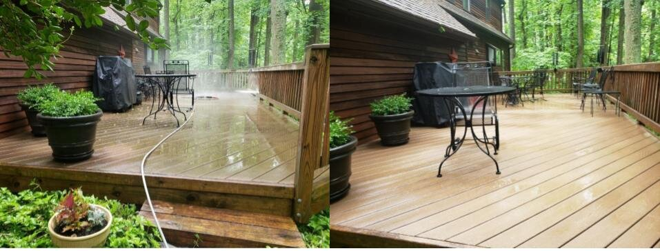 Maintaining your deck!