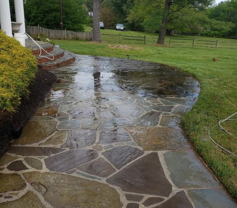 Flagstone Exterior Surfaces