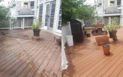 Composite Deck Wash