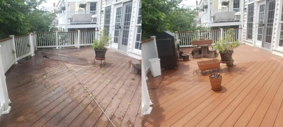 Composite Deck Wash