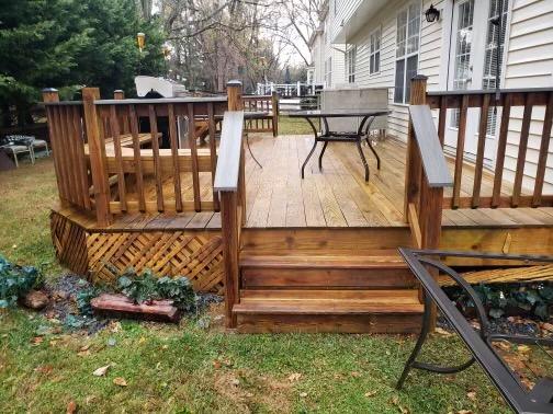Booking deck restoration services?