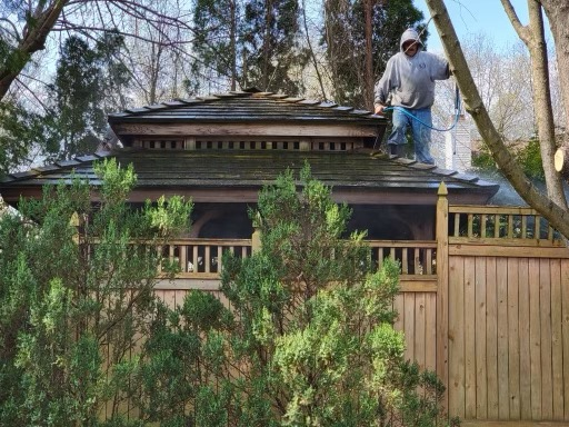 Cedar Roof Cleaning